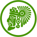 icon mask groen donker