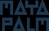 logo MayaPalm blauw