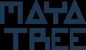 logo MayaTree blauw